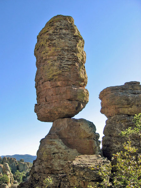Pinnacle Balanced Rock, Chiricahua NM, Arizona