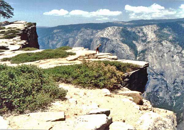 Taft Point, Yosemity NP, Kalifornien