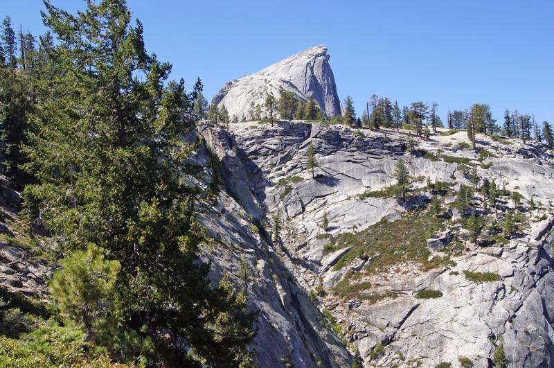 Klettersteig Yosemite : Half dome