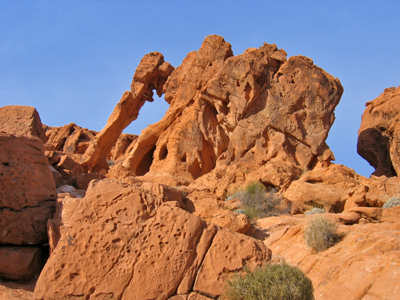 Elephant Rock, Valley of Fire StPk, Nevada
