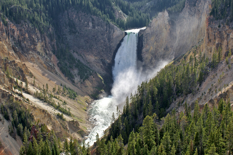 Yellowstone Falls, Yellowstone NP, Wyoming